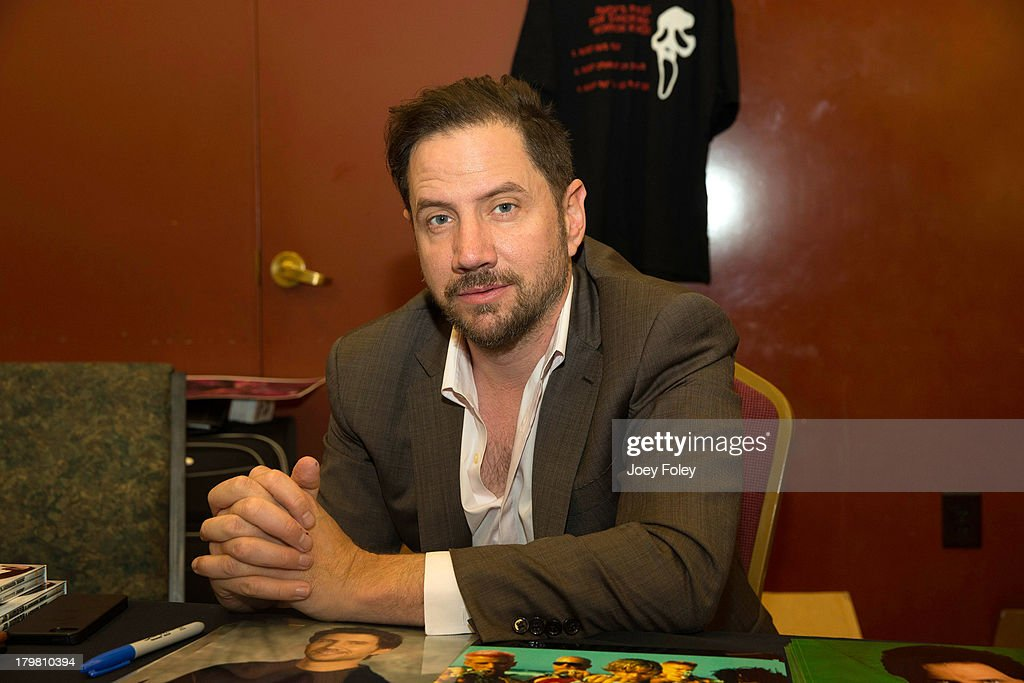 <a gi-track='captionPersonalityLinkClicked' href=/galleries/search?phrase=Jamie+Kennedy&family=editorial&specificpeople=206976 ng-click='$event.stopPropagation()'>Jamie Kennedy</a> attends HorrorHound Weekend at Marriott Indianapolis on September 6, 2013 in Indianapolis, Indiana.