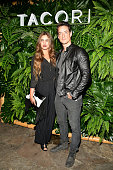 Jamie Kidd and Justin Price attend the 7th Annual Club Tacori Riviera at The Roosevelt at Tropicana Bar at The Hollywood Roosevelt Hotel on October 6...