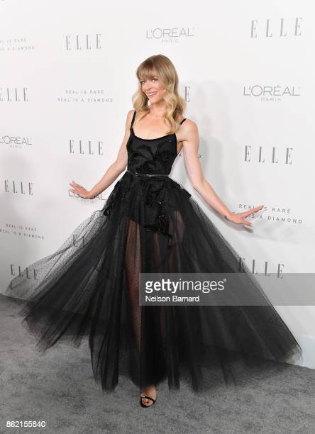 Jamie King attends ELLE's 24th Annual Women in Hollywood Celebration presented by L'Oreal Paris Real Is Rare Real Is A Diamond and CALVIN KLEIN at...