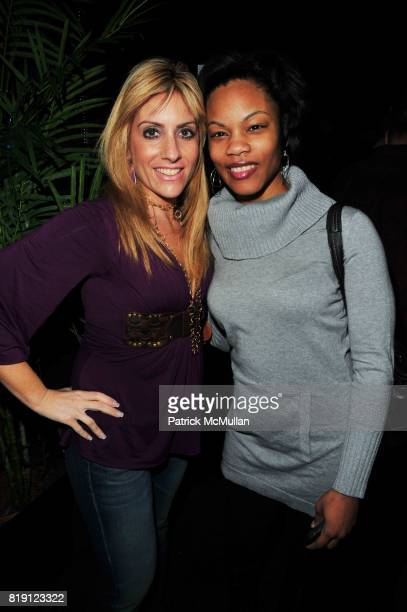 Jamie Krone and Sanya Cowan attend POLE SUPERSTAR presents Dreams and Fantasies at The Imperial on March 12 2010 in New York City