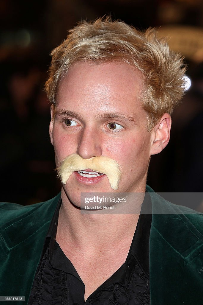 <a gi-track='captionPersonalityLinkClicked' href=/galleries/search?phrase=Jamie+Laing&family=editorial&specificpeople=8322768 ng-click='$event.stopPropagation()'>Jamie Laing</a> attends the UK premiere of 'Anchorman 2: The Legend Continues' at the Vue West End on December 11, 2013 in London, England.