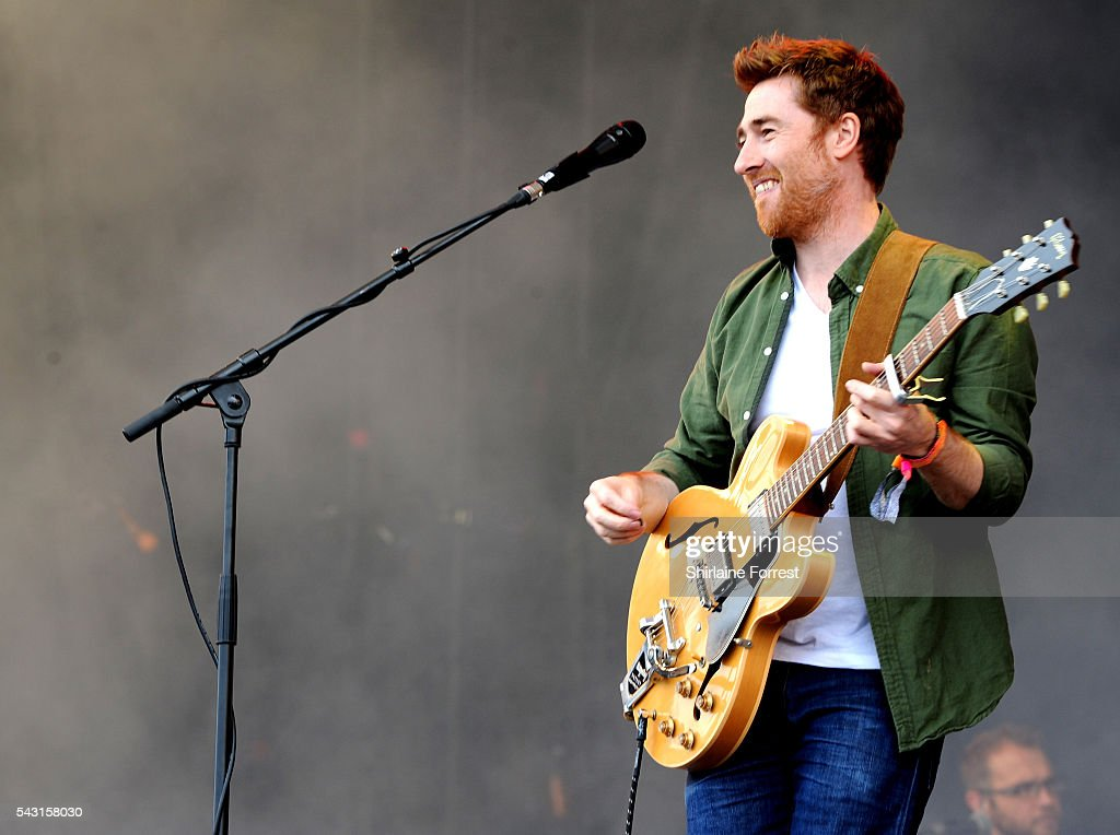 Jamie Lawson performs on The Other Stage at Glastonbury Festival 2016 at Worthy Farm, Pilton on June 25, 2016 in Glastonbury, England.