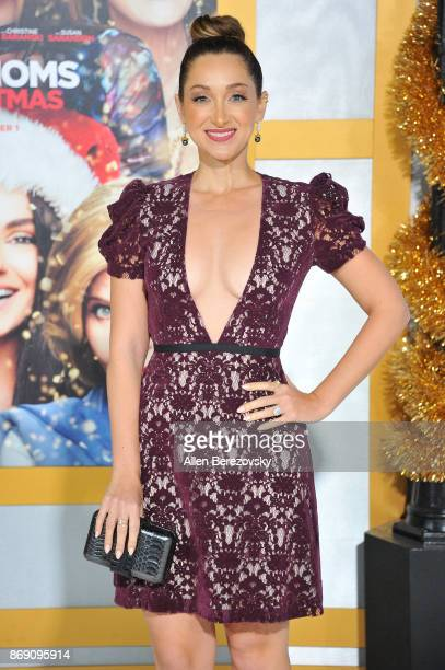 Jamie Lee attends the premiere of STX Entertainment's 'A Bad Moms Christmas' at Regency Village Theatre on October 30 2017 in Westwood California