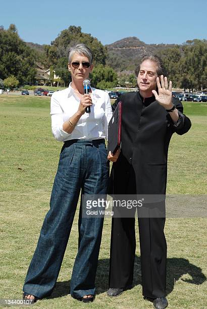Jamie Lee Curtis and Richard Lewis at the 2nd Annual Polo in the Palisades presented by the Promises Foundation September 16 2007 at Will Rogers...