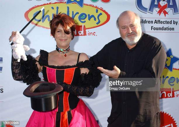 Jamie Lee Curtis and Rob Reiner during 12th Annual Dream Halloween Fundraising Event Benefiting The Children Affected by AIDS Foundation Arrivals at...