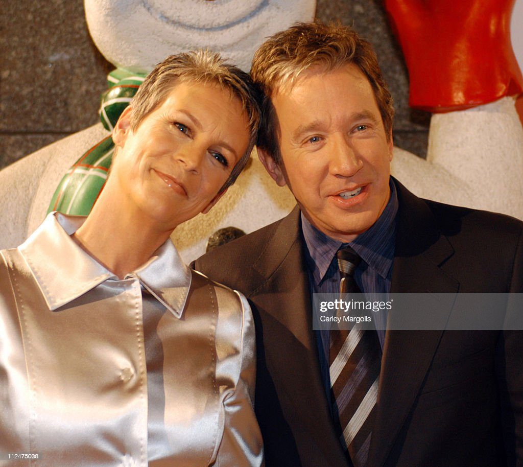 Jamie Lee Curtis and Tim Allen during 'Christmas with the Kranks' New York Premiere at Radio City Music Hall in New York City, New York, United States.