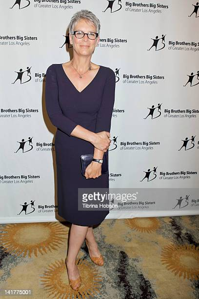 Jamie Lee Curtis attends The Guild of Big Brothers Big Sisters of Greater Los Angeles annual Accessories for Success Spring Luncheon and Fashion Show...