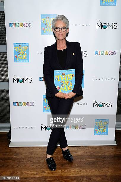 Jamie Lee Curtis attends the 'This Is Me' book launch at Landmarc on September 19 2016 in New York City