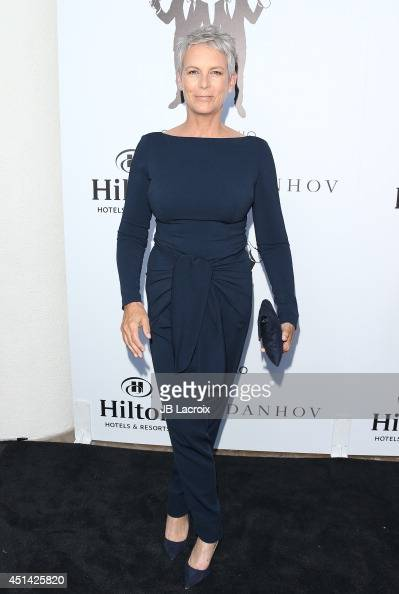 Jamie Lee Curtis attends the wedding celebration of Paul Katami Jeff Zarrillo on June 26 2014 held at the Beverly Hilton Hotel in Beverly Hills...
