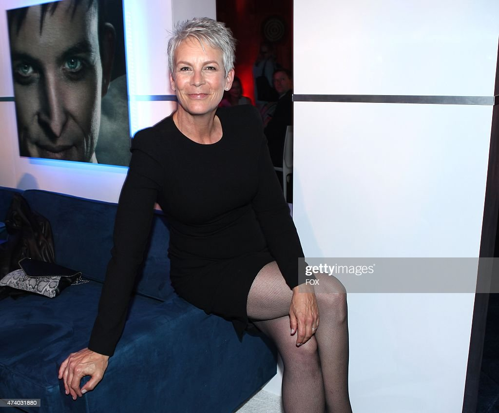 Jamie Lee Curtis celebrates during the FOX ALL STAR PARTY on Monday May 11 2015 at The Stone Rose in New York