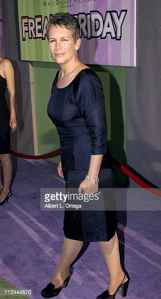 Jamie Lee Curtis during Premiere of 'Freaky Friday' at El Capitan Theater in Hollywood California United States