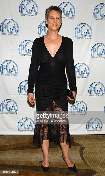 Jamie Lee Curtis during The 15th Annual Producers Guild Awards Arrivals at Century Plaza Hotel in Century City California United States