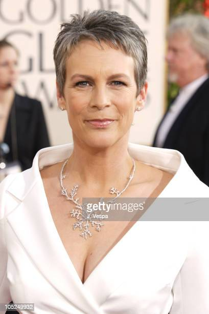 Jamie Lee Curtis during The 61st Annual Golden Globe Awards Arrivals at The Beverly Hilton in Beverly Hills California United States