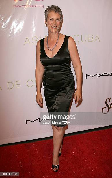 Jamie Lee Curtis during 'What A Pair 4 ' Arrivals at Wiltern Theatre in Hollywood California United States