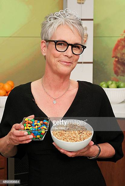 THE CHEW Jamie Lee Curtis is the guest today Tuesday September 22 2015 on ABC's 'The Chew' 'The Chew' airs MONDAY FRIDAY on the ABC Television Network