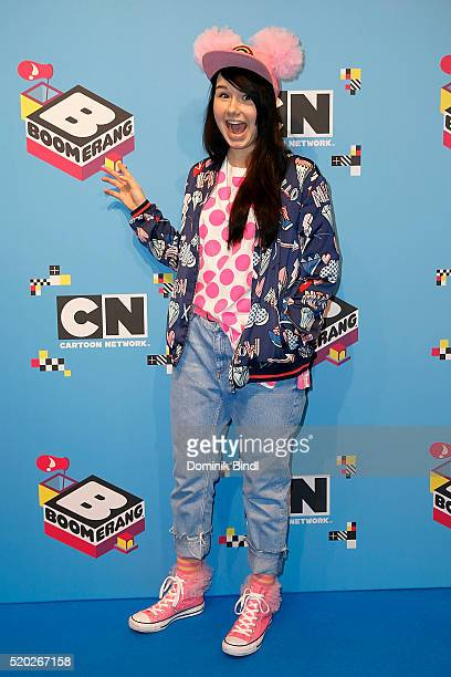 Jamie Lee Kriewitz attends the Family Friends Fun Day by kids TV channels Cartoon Network and Boomerang at TonHalle on April 10th in Munich Germany