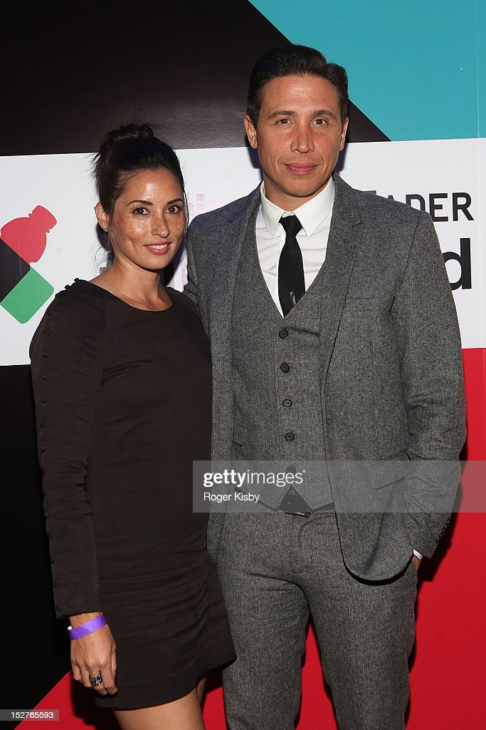 Jamie Lee-Palladino and Erik Palladino attend vitaminwater Fader uncapped at the The Angel Orensanz Foundation on September 24, 2012 in New York City.