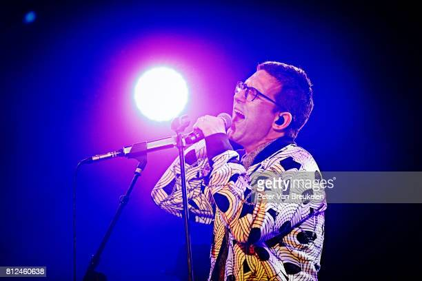 Jamie Lidell Performs at North Sea Jazz Festival on Juli 7th 2017 in Rotterdam The Netherlands
