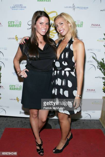 Jamie Lison and Yanina Erman attend Grand Opening of La Pomme at 37 W 26th St on September 17 2009 in New York City