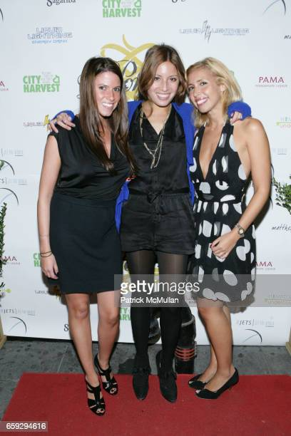 Jamie Lison Lauren Gould and Yanina Erman attend Grand Opening of La Pomme at 37 W 26th St on September 17 2009 in New York City