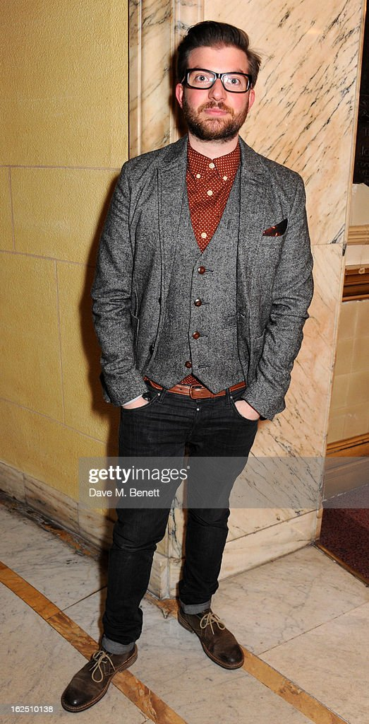 Jamie Lloyd attends the 'Macbeth' after party at One Whitehall Place on February 22, 2013 in London, England.