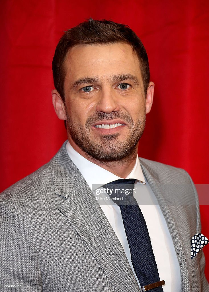 Jamie Lomas attends the British Soap Awards 2016 at Hackney Empire on May 28, 2016 in London, England.