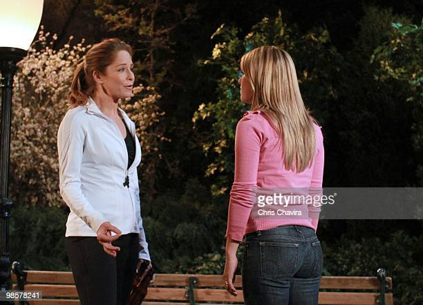 CHILDREN Jamie Luner Finn Wittrock and Natalie Hall in a scene that airs the week of April 26 2010 on ABC Daytime's 'All My Children' 'All My...