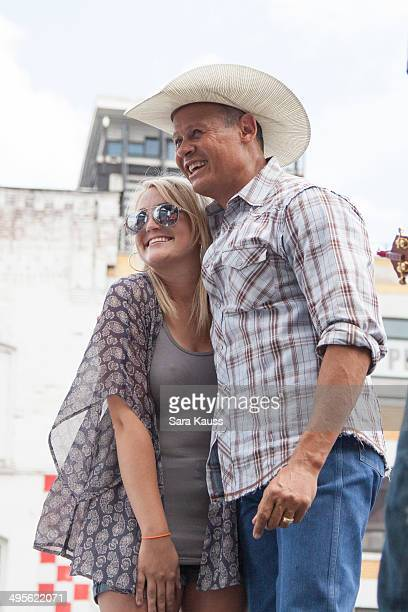 Jamie Lynn Spears and Neal McCoy attend SiriusXM's 2nd Annual 'Highway Finds' Concert at the Hard Rock Cafe Nashville on June 4 2014 in Nashville...
