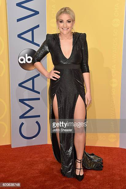 Jamie Lynn Spears attends the 50th annual CMA Awards at the Bridgestone Arena on November 2 2016 in Nashville Tennessee