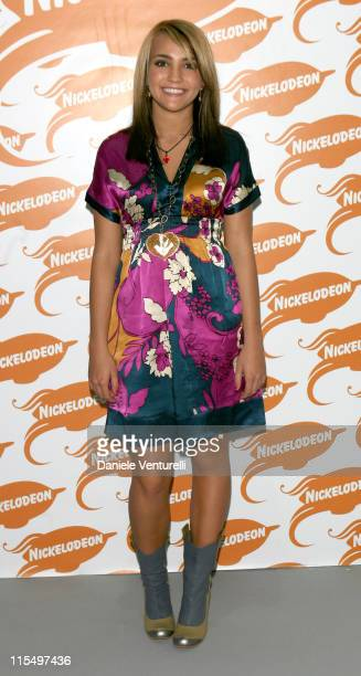 Jamie Lynn Spears during 2006 Nickelodeon Kids Choice Awards Backstage at Palalido in Milan Italy