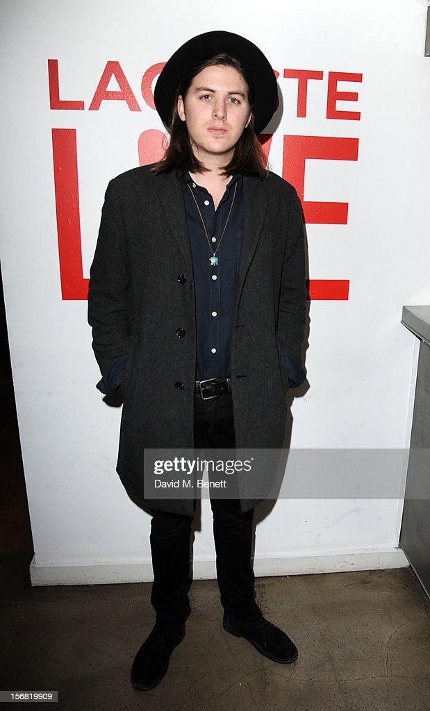 Jamie M Commons attends the launch of Lacoste L!VE at Shoreditch House on November 21, 2012 in London, England.