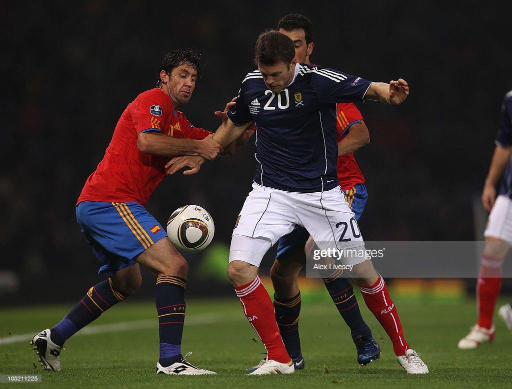 Scotland v Spain - EURO 2012 Qualifier
