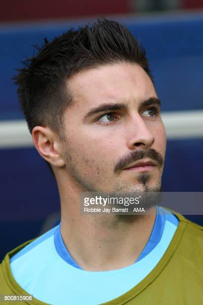 Jamie MacLaren of Australia during the FIFA Confederations Cup Russia 2017 Group B match between Chile and Australia at Spartak Stadium on June 25...