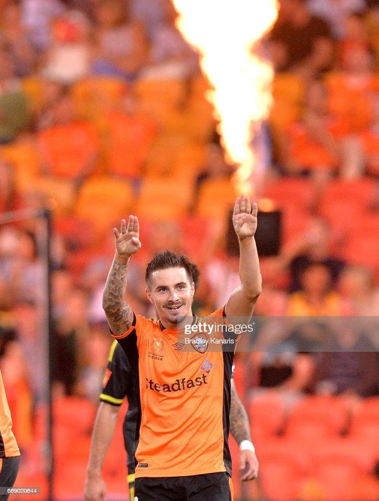 A-League Rd 27 - Brisbane v Wellington