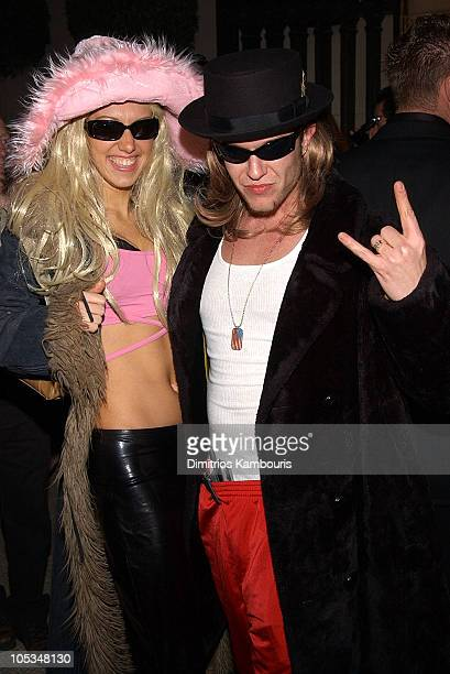 Jamie McCarthy and guest during Heidi Klum's 3rd Annual Halloween Bash at Capitale in New York City New York United States