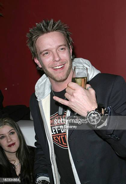 Jamie McCarthy during Carmen Kass Hosts Kutty Kass' and Jamie McCarthy's 30th Birthday Party at Social Club in New York City New York United States