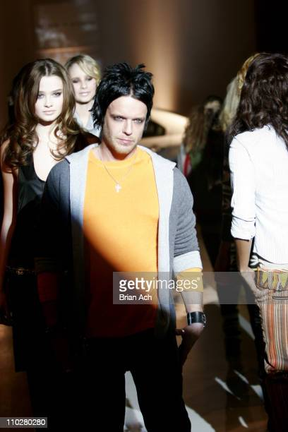 Jamie McCarthy wearing Alice Olivia Fall 2006 during Olympus Fashion Week Fall 2006 Alice Olivia Runway in New York New York United States