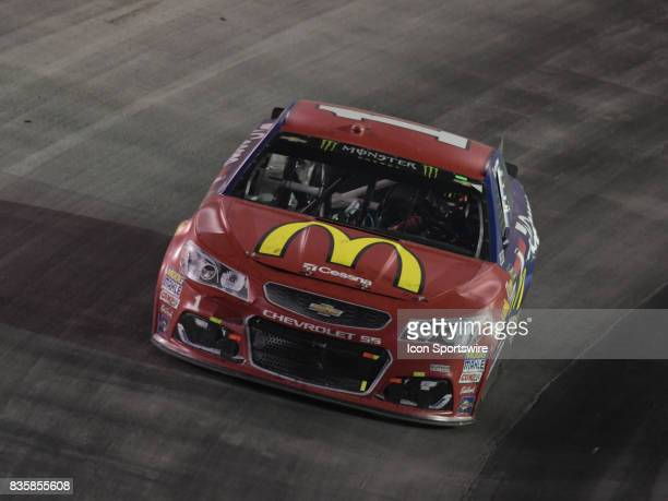 Jamie McMurray Chip Ganassi Racing McDonalds/Cessna Chevrolet SS during the NASCAR Monster Energy Cup Series Bass Pro Shops NRA Night Race on August...