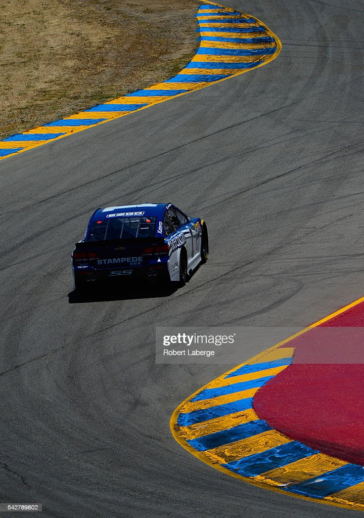 Jamie McMurray, driver of the #1 Cessna Chevrolet, drives during practice for the NASCAR Sprint Cup Series Toyota/Save Mart 350 at Sonoma Raceway on June 24, 2016 in Sonoma, California.