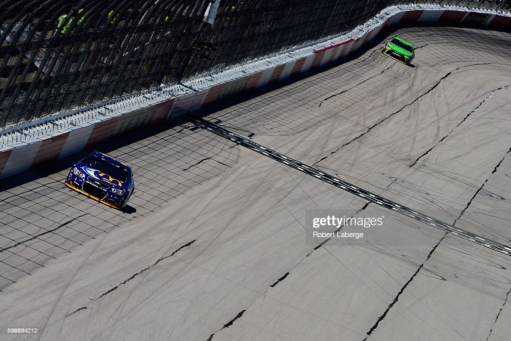 Jamie McMurray, driver of the #1 McDonald's Chevrolet, drives during practice for the NASCAR Sprint Cup Series Bojangles' Southern 500 at Darlington Raceway on September 3, 2016 in Darlington, South Carolina.