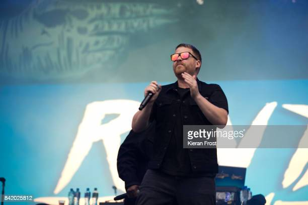 Jamie Meline of Run the Jewels performs at Electric Picnic Festival at Stradbally Hall Estate on September 2 2017 in Laois Ireland