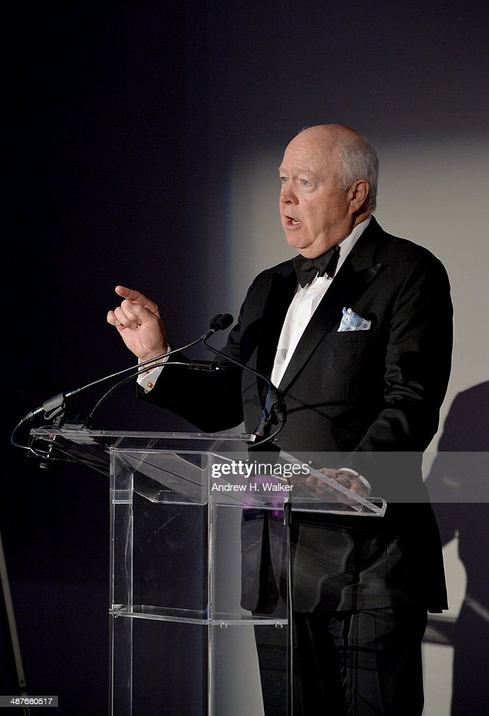 Jamie Niven speaks during Alzheimer's Drug Discovery Foundation eighth Annual Connoisseur's Dinner at Sotheby's on May 1, 2014 in New York City.