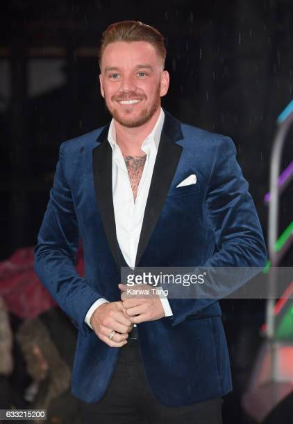 Jamie O'Hara is the 9th housemate evicted from the Celebrity Big Brother House at Elstree Studios on January 31 2017 in Borehamwood England