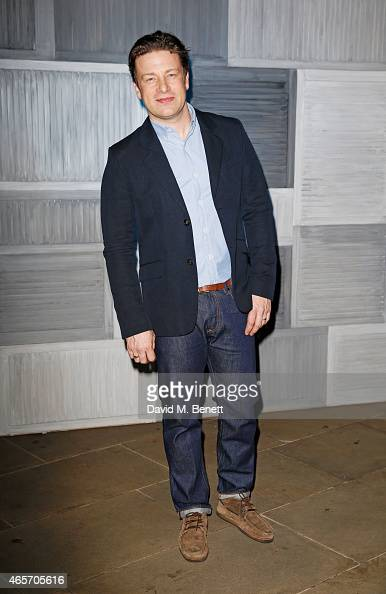 Jamie Oliver arrives at a party hosted by Instagram's Kevin Systrom and Jamie Oliver This is their second annual private party taking place at...