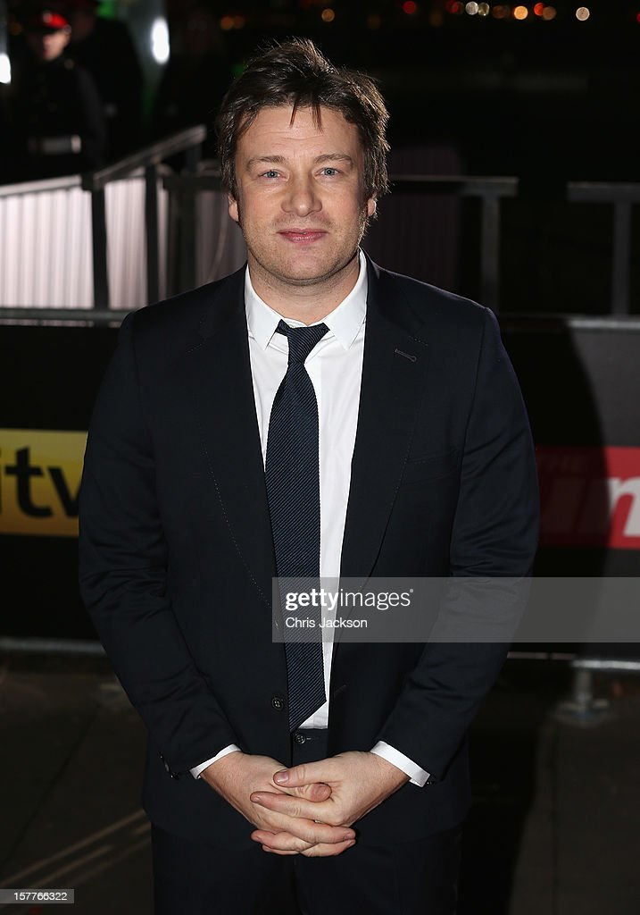 Jamie Oliver attends the Sun Military Awards at the Imperial War Museum on December 6, 2012 in London, England.