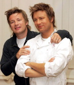 Jamie Oliver during Jamie Oliver Unveils His Waxwork at Madame Tussauds in London at Madame Tussauds in London Great Britain