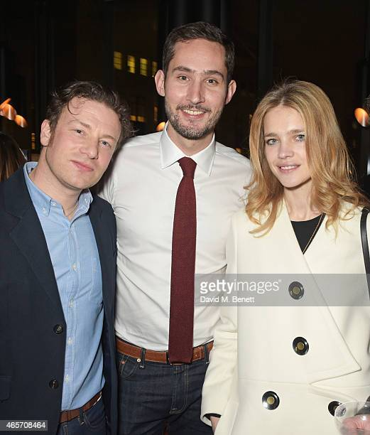 Jamie Oliver Kevin Systrom and Natalia Vodianova attend a party hosted by Instagram's Kevin Systrom and Jamie Oliver This is their second annual...