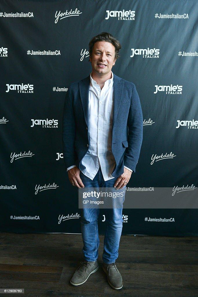 Jamie Oliver Visits Jamie's Italian Canada