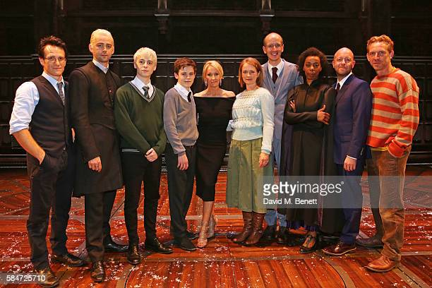 Jamie Parker Alex Price Anthony Boyle Sam Clemmett JK Rowling Poppy Miller Jack Thorne Noma Dumezweni director John Tiffany and Paul Thornley attends...