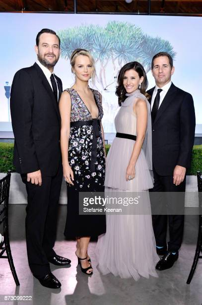 Jamie Patricof CoPresidents of Baby2Baby Kelly Sawyer Patricof and Norah Weinstein and Brian Weinstein attend The 2017 Baby2Baby Gala presented by...